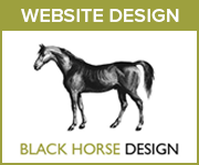 Black Horse Design Website Design (Shropshire Horse)